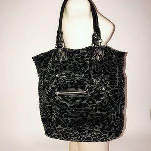 Juicy Couture leopard shoulder purse